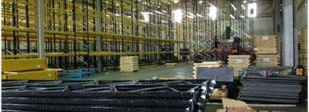 installation of pallet racking