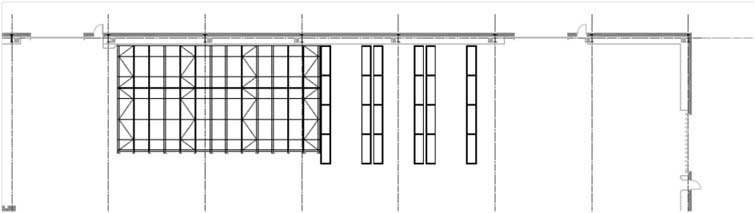 CAD image for Hartlepool pallet racking installation