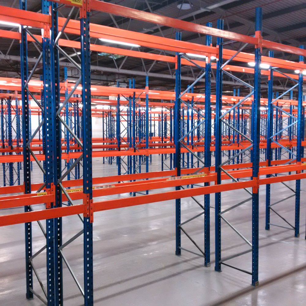 Successful installation of APR pallet racking