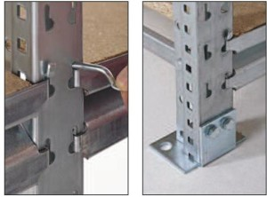 locking pins & fixed frames of MiniPal
