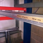 Ssed Dexion P90 pallet racking beams