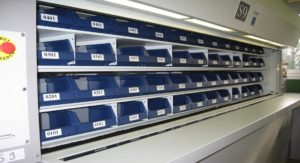 Carousel automated storage system