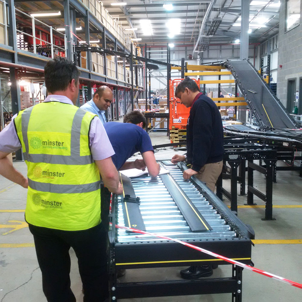 conveyor systems electrical installation