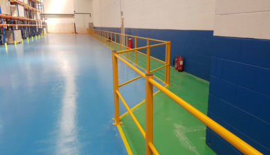 Safety Barrier Handrail
