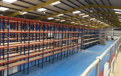 Pallet Racking Installation Yorkshire