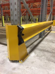 Safety Barriors for Dexion P90 racking