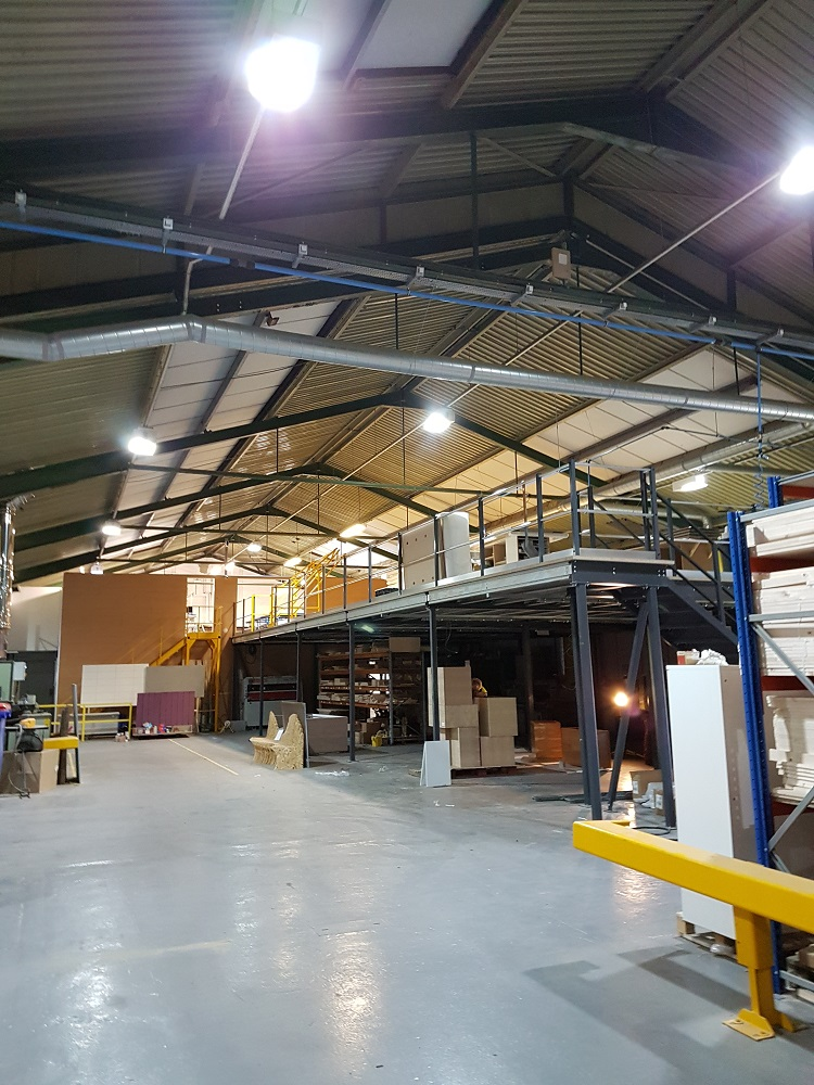 Mezzanine Floor Installation Hartlepool