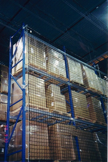Pallet Racking Safety Netting