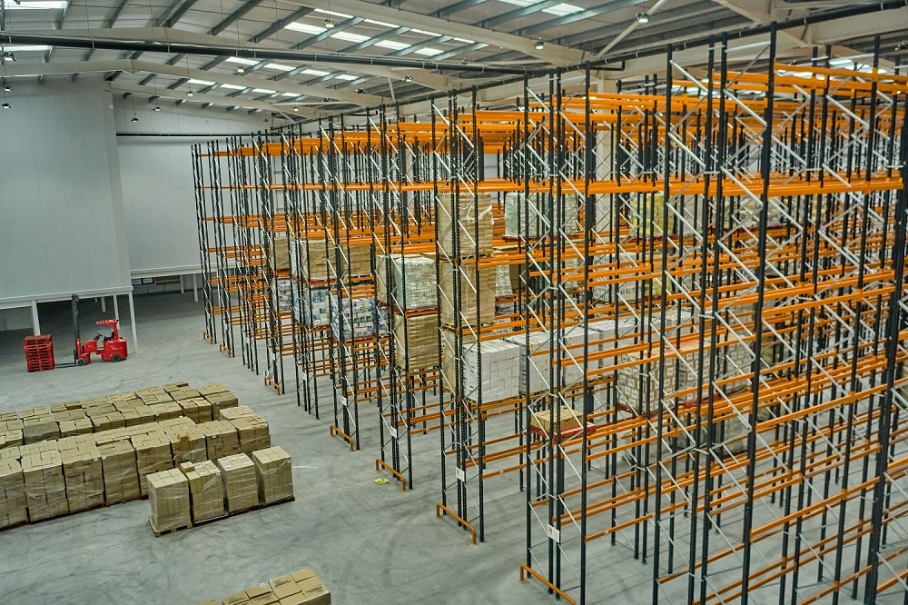 Full Warehouse Fitout project for OTL