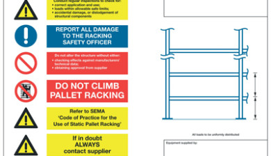 Warehouse Identification Load Notices