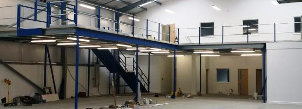 Bespoke Mezzanine Floor System