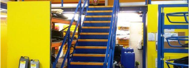 Mezzanine Floor Installation Leeds